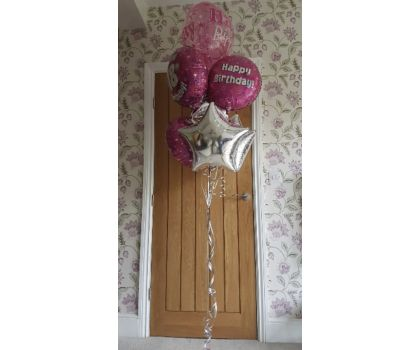 Age Birthday Balloon Bouquets - prices start at £14.00