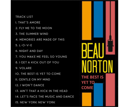 Beau Norton 'The Best Is Yet To Come' CD album