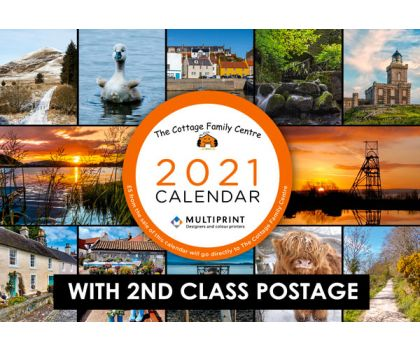 2021 Calendar with 2nd Class Postage
