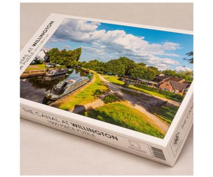 1000 Piece Jigsaw - The Canal at Willington