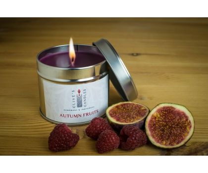 Clive's Candles, Autumn Fruits Scented Candle, 200gms, 40 hours burn time