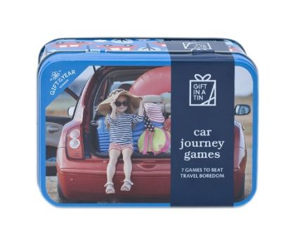 Car Journey Games (Gift in a Tin)