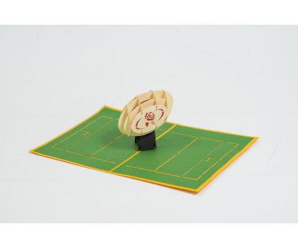 England Rugby Pop Up Card