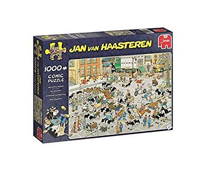 The Cattle Market 1000 Piece Jigsaw Puzzle,