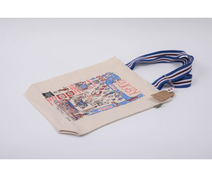 Cityscapes Rugby Large Tote Bag