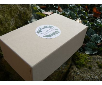 'Rainbow' gift box of 6 x 100g handcrafted aromatherapy soaps