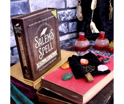 Salem's Spell Kit, Set of Six Witches Wellness Stones