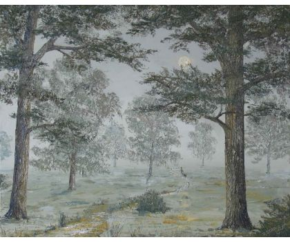 'Autumnal Mists'. Original oil painting by David Starley