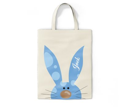 Easter Bunny Tote Bag - Various Colours