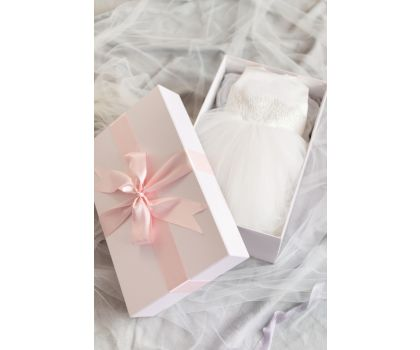 Flower Girl Dress Cleaning and Boxing Package