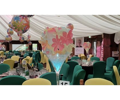 Flower Power Centrepieces - prices from £35