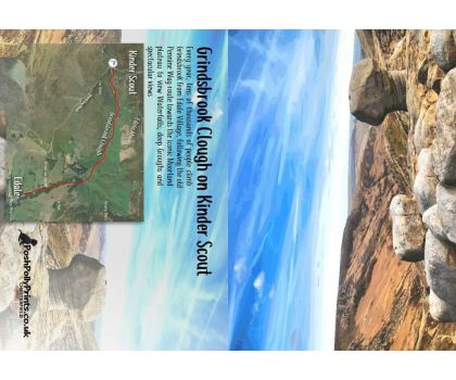 Grindsbrook with Map A6 Greeting Card
