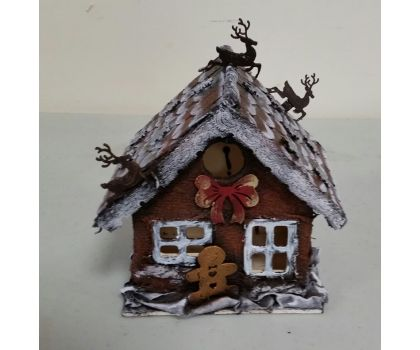 Gingerbread House. Powertex - Saturday, 6th of November, 2021 Starts: 10:00 am Ends: 1:00 pm
