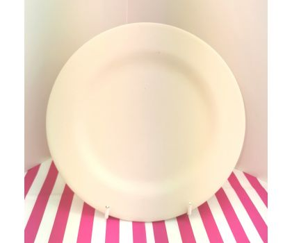 Paint your own Dinner Plate (With rim)