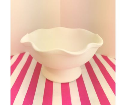Paint your own Ruffle Bowl