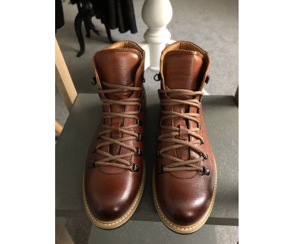 Lacuzzo Brown Leather Boots