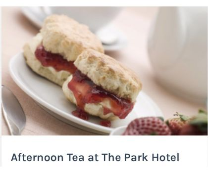 Afternoon Tea at The Park Hotel per person