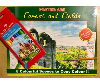 Forests and Fields Colouring Pack