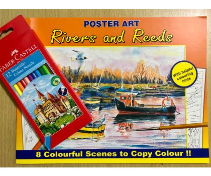 Rivers and Reeds Colouring Pack