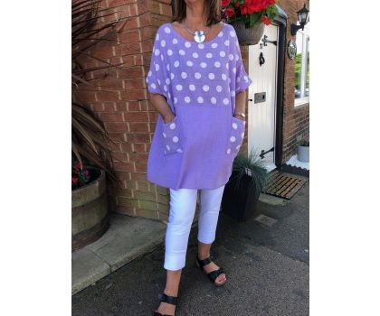 Made In Italy -  Tunic Top