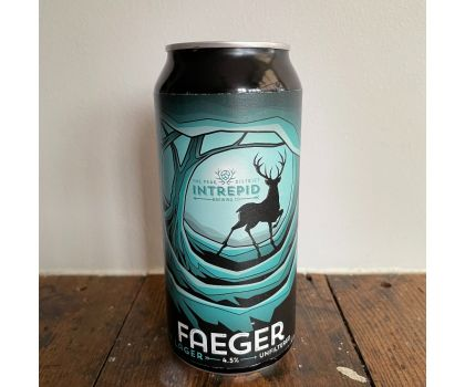Intrepid Brewery Faeger Blonde lager 4.5%