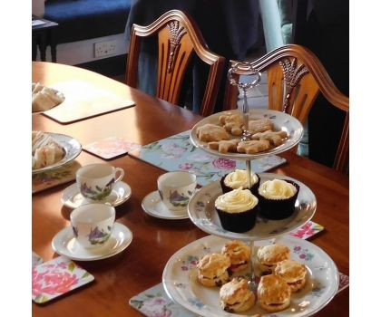 Voucher for Afternoon Tea - per person