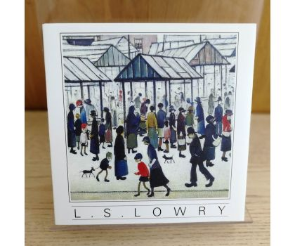 L.S. Lowry Biography Notelets