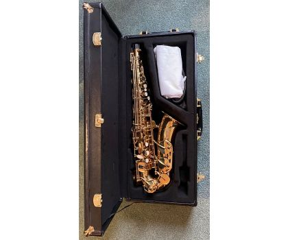 Buffet Crampon 8201 Alto Saxophone 2010's Brass Lacquer - Pre Owned