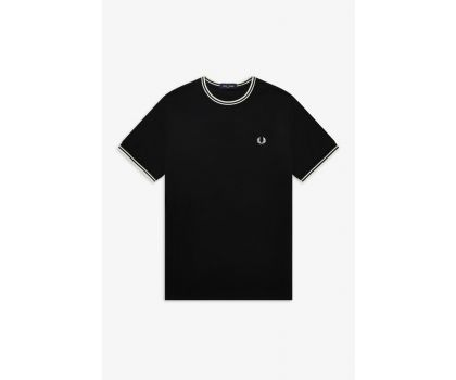 Fred Perry Twin tip t-shirt - Black