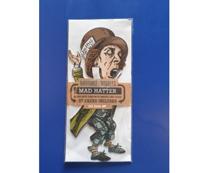 Mad Hatter Quotable Notable Card