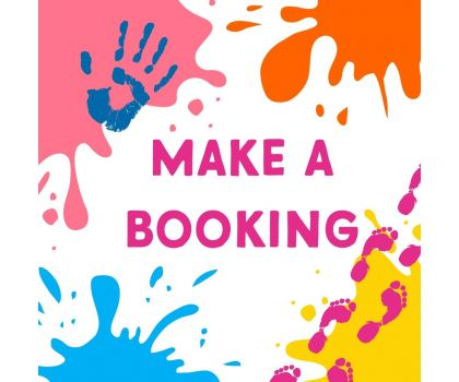 Booking - Pottery Painting or Hand and Footprints Session