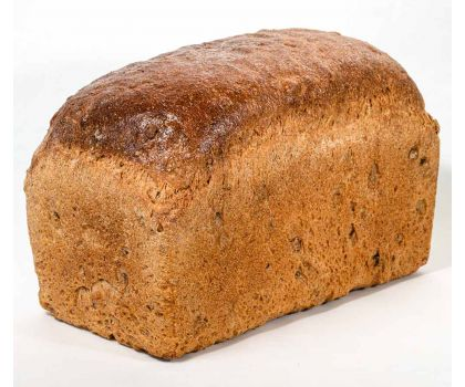 Malted grain bread