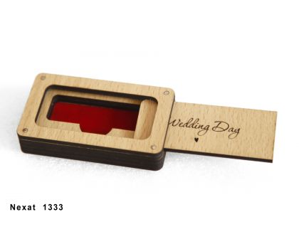 Wooden Pen Drive Flash Drive USB Storage Box