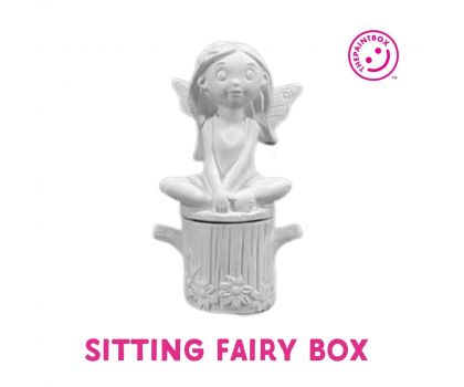 Paint your own Sitting Fairy Box