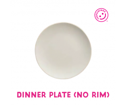 Paint your own Dinner Plate (No rim)