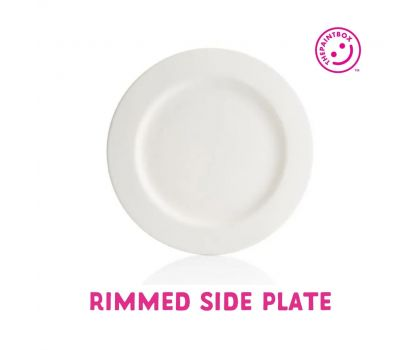 Paint your own Side Plate (With rim)