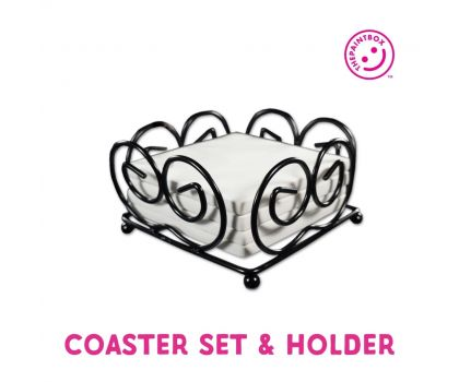 Paint your own Coaster Set