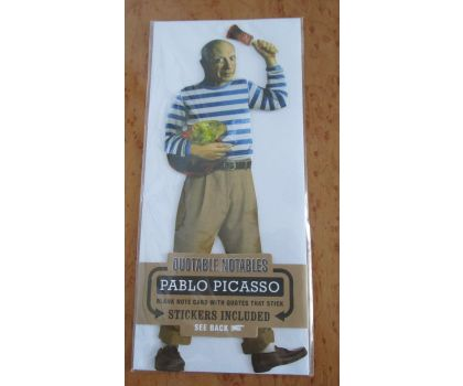 Pablo Picasso Quotable Notable Card