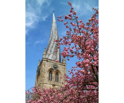 St Mary's and All Saints Church A6 Greeting Card