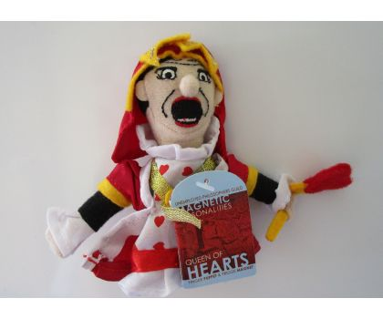Queen of Hearts Magnetic Finger Puppet