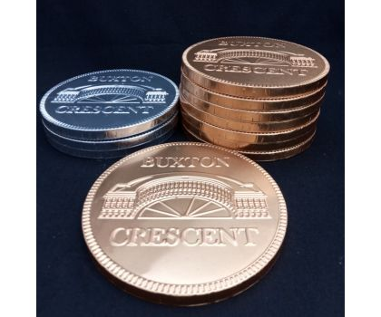 Buxton Crescent Giant Chocolate Coin