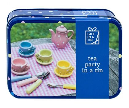 Tea Party in a Tin (Gift in a Tin)