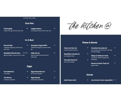The Kitchen @ [Book Now]