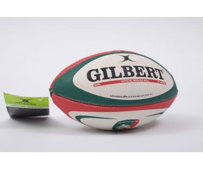 Gilbert Midi Rugby Ball - Leicester Tigers