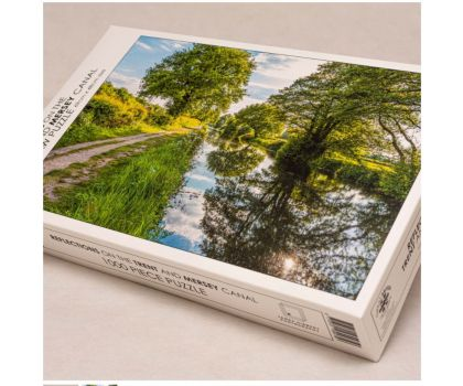 1000 Piece Jigsaw - Reflections on the Trent and Mersey canal