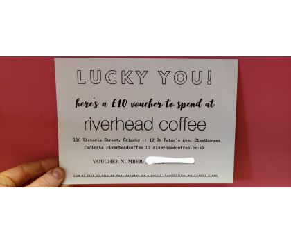 £10 Voucher for Riverhead Coffee