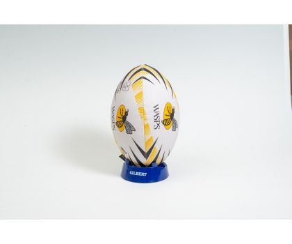 Gilbert Wasps Supporter Rugby Ball Size 5