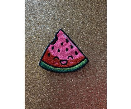 Kawaii Watermelon iron-on patch or shoe lace patch