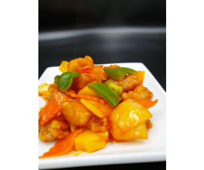sweet and sour chicken cantonese