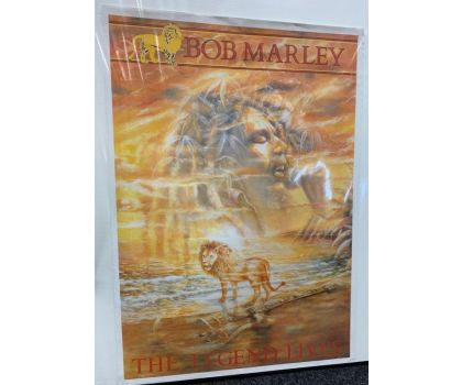 Bob Marley vintage poster from the 80s